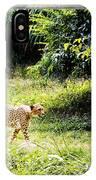 Run Cheetah Run 0 To 60 In 3 Seconds IPhone Case
