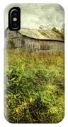 Run Down Barn IPhone Case