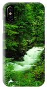 Running Through The Forest  IPhone Case