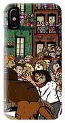 Running With The Bulls 1 IPhone Case