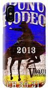Rupununi Rodeo IPhone Case