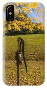 Rural Connecticut Autumn IPhone Case