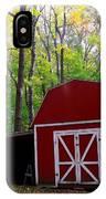 Rural Fall Scene IPhone Case