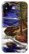 Rushing River IPhone Case