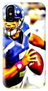 Russell Wilson In The Pocket IPhone Case