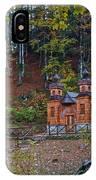 Russian Chapel - Vrsic Pass - Slovenia IPhone Case
