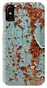Rust And Paint IPhone Case