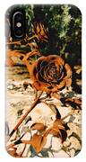 Rust And Roses IPhone Case