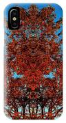 Rust And Sky 2 - Abstract Art Photo IPhone Case