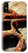 Rust Tools II With Texture IPhone Case