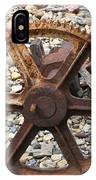Rusted Gear Wheel Glacier National Park Montana IPhone Case