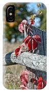 Rustic Autumn IPhone Case