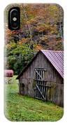 Rustic Barns IPhone Case