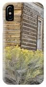 Rustic Building IPhone Case