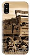 Rustic Covered Wagon IPhone Case