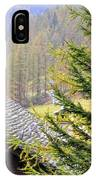 Rustic House And Tree IPhone Case