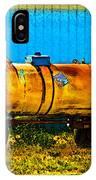 Rustic Tank Art IPhone Case