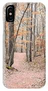 Rustic Trails In January 2013 IPhone Case