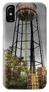 Rustic Water Tower IPhone Case