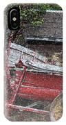 Rustic Winter IPhone Case
