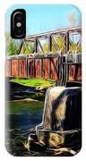 Rusting Bridge IPhone Case