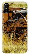 Rusting Farm Equipment IPhone Case