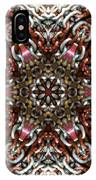 Rusty Chain Link Kaleido IPhone Case