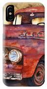 Rusty Crusty Ford Truck IPhone X Case