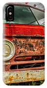 Rusty Dodge IPhone Case