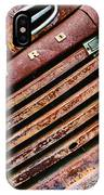 Rusty Ford Grill IPhone Case