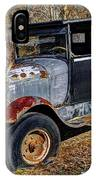Rusty Model Aa Ford IPhone Case