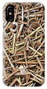 Rusty Nails IPhone Case