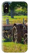 Rusty Old Mccormick Deering Tractor IPhone Case