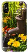Rusty Old Water Pump IPhone Case