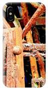 Rusty Railings IPhone Case