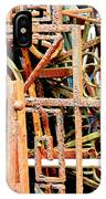 Rusty Railings Square IPhone Case