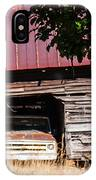 Rusty Red Memories IPhone X Case
