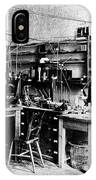 Rutherford's Cavendish Laboratory IPhone Case