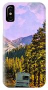 Rv And See America IPhone Case
