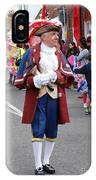 Rye Town Crier IPhone Case