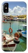 Rythemno Greece IPhone Case