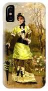 Sa Majeste La Parisienne IPhone Case