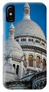 Sacre-coeur And Moon IPhone Case