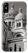 Sacre Coeur Architecture  IPhone Case