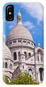 Sacre Coeur Basilica Paris France IPhone Case