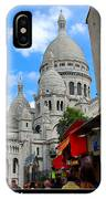 Sacre Coeur In Montmartre IPhone Case
