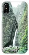 100450-sacred Falls  IPhone Case