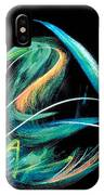 Sacred Feather Dance IPhone Case