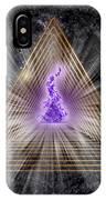 Sacred Geometry 186 IPhone Case