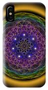 Sacred Geometry 202 IPhone Case